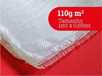 Tecido 110g m2 - 0,65 largura Nacional - Surf e Peças - (1MT X 0,65MT)