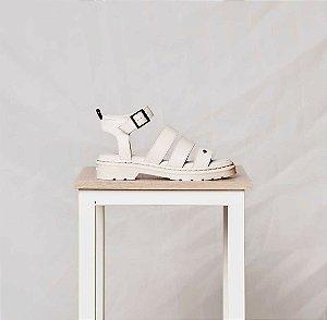 Sandália Cravo & Canela Porcelana