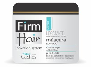 Máscara HIDRATANTE Low Poo Firm Hair 500 g