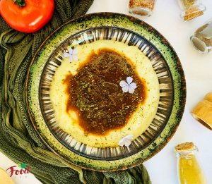 Comida Congelada – Batata Recheada com Ragú de Funghi – 350g – FoodLev