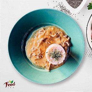 Comida Congelada – Estrogonofe de Shimeji – 350g – FoodLev