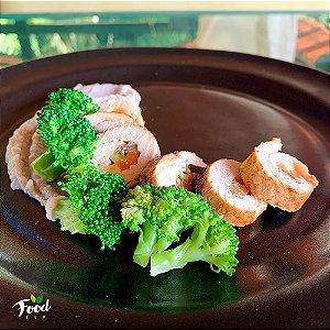 Comida Congelada – Rolê de Frango Recheado com Legumes – 350g – FoodLev
