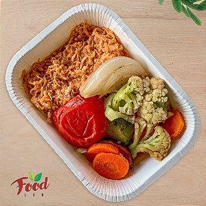 Comida Congelada – Frango Desfiado com Legumes – 350g – FoodLev