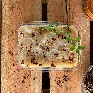 Comida Congelada – Escondidinho de Aipim com Bolonhesa de Lentilha Rosa – 350g – FoodLev