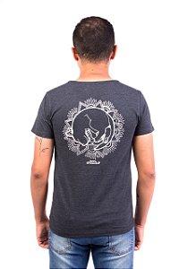 Camiseta Havi Mandala Milka Grafite Masculina