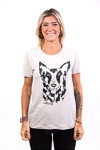 Camiseta Havi Mundo Vira Lata Mescla Feminina