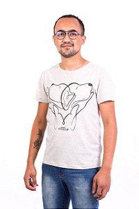 Camiseta Havi Love&Care Mescla Masculina