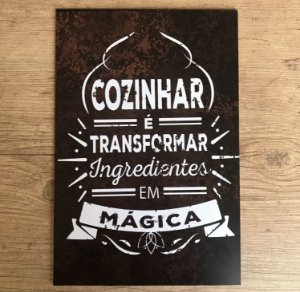 Placa Quadro Decorativo D008