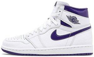 "Air Jordan 1 Retro High OG Wmns ""Court Purple"" Feminino"