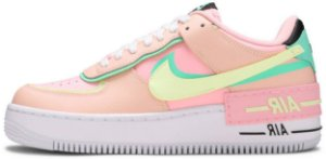 """Nike Air Force 1 Shadow """"Arctic Punch Barely Volt"""" Feminino"""
