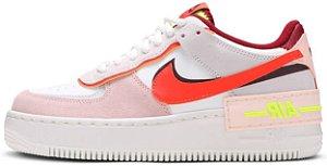 "Nike Air Force 1 Shadow ""Team Red Orange Pearl"" Feminino"