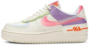 "Nike Air Force 1 Shadow ""Shadow Beige"" Feminino"