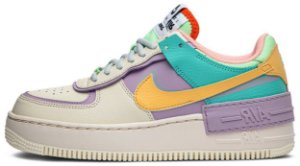 "Nike Air Force 1 Shadow ""Pale Ivory"" Feminino"