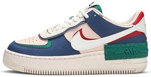 "Nike Air Force 1 Shadow ""Mystic Navy"" Feminino"