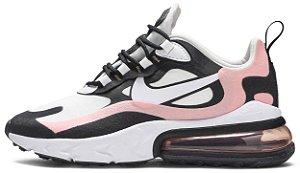 "Nike Air Max 270 React ""Coral Black"" Feminino"