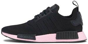 "Adidas NMD R1 ""Black True Pink"" Feminino"