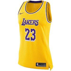 Regata NBA Nike Los Angeles Lakers Swingman Feminina