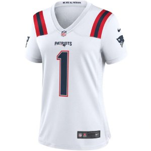 Camisa NFL Nike New England Patriots Feminina - Branco