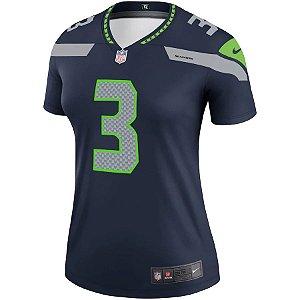 Camisa NFL Nike Seattle Seahawks Feminina - Azul