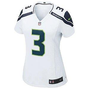 Camisa NFL Nike Seattle Seahawks Feminina - Branco