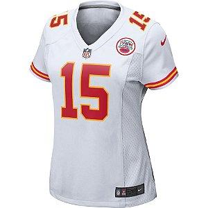 Camisa NFL Nike Kansas City Chiefs Feminina - Branco
