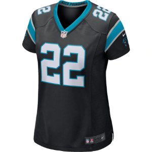 Camisa NFL Nike Carolina Panthers Feminina - Preto