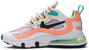 "Nike Air Max 270 React SE ""Light Arctic Pink"" Feminino"
