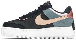 "Nike Air Force 1 Shadow ""Black Light Arctic Pink"" Feminino"