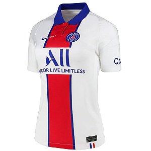 Camisa Nike PSG 2 2020/21 Feminina