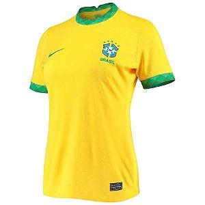 Camisa Nike Brasil 1 2020/21 Feminina
