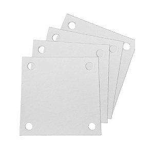 Papel Filtrante 7 X 7 - 4 Furos