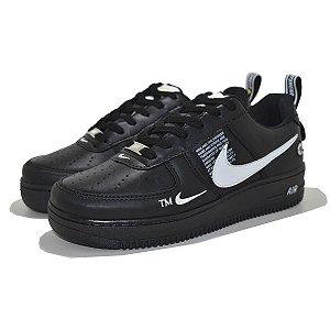 Tênis Nike Air Force 1 TM Preto/Branco