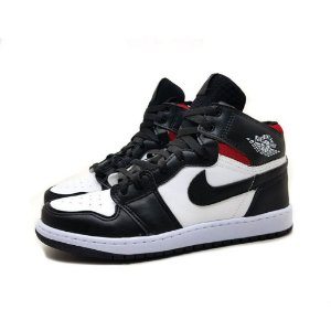 Tênis Nike Air Jordan 1 Preto/Branco/Vermelho