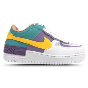 Tênis Nike Air Force 1 Shadow Lilás/Amarelo