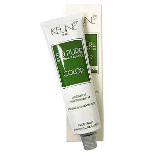 Coloração So Pure Natural Balance Keune 8.1 Louro Claro Cinza 60g