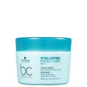 Máscara de Tratamento Hyaluronic Moisture Kick Treatment Schwarzkopf Professional Bonacure 200ml