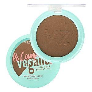 Pó Compacto Vegano Vizzela Cor 08 9G
