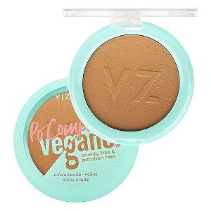 Pó Compacto Vegano Vizzela Cor 09 9G