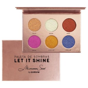 Paleta de Sombras by Mariana Saad Oceane Let it Shine 9G