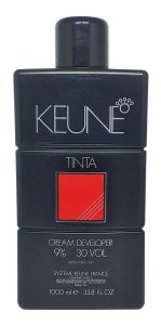 Água Oxigenada Keune Tinta Developer 30 Volumes (6%)  1000ml