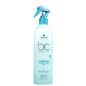 Condicionador Spray Leave-In Hyaluronic Moisture Kick Schwarzkopf Professional Bonacure 400ml