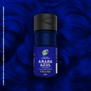 Máscara Pigmentante Tonalizante Kamaleão Color Cor Arara Azul 150ml