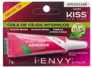 Cola de Cílios Inteiriços com Aloe Vera 16h First Kiss 7g