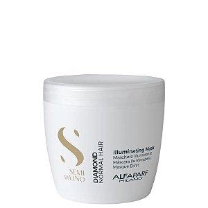 Máscara de Tratamento Semi Di Lino Diamond Illuminating Alfaparf 500ml