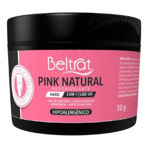 Gel Hard Pink Natural Autonivelante Beltrat 30g