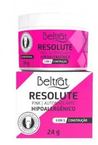 Gel Autonivelante Resolute Pink Beltrat 24g