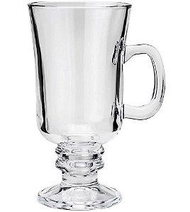 Conjunto 6 Taças Cappuccino de Vidro 114ml LYOR