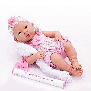 Boneca Realista Reborn Baby Ninos 2032 Cotiplas