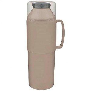 Garrafa Termica Indie 1 litro Bege MOR