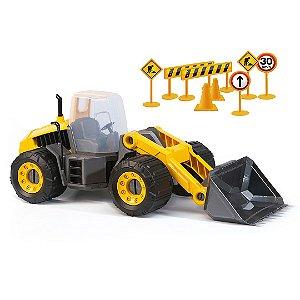 Patrola Pa Carregadeira de Brinquedo